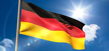 На фотографии флаг Германии