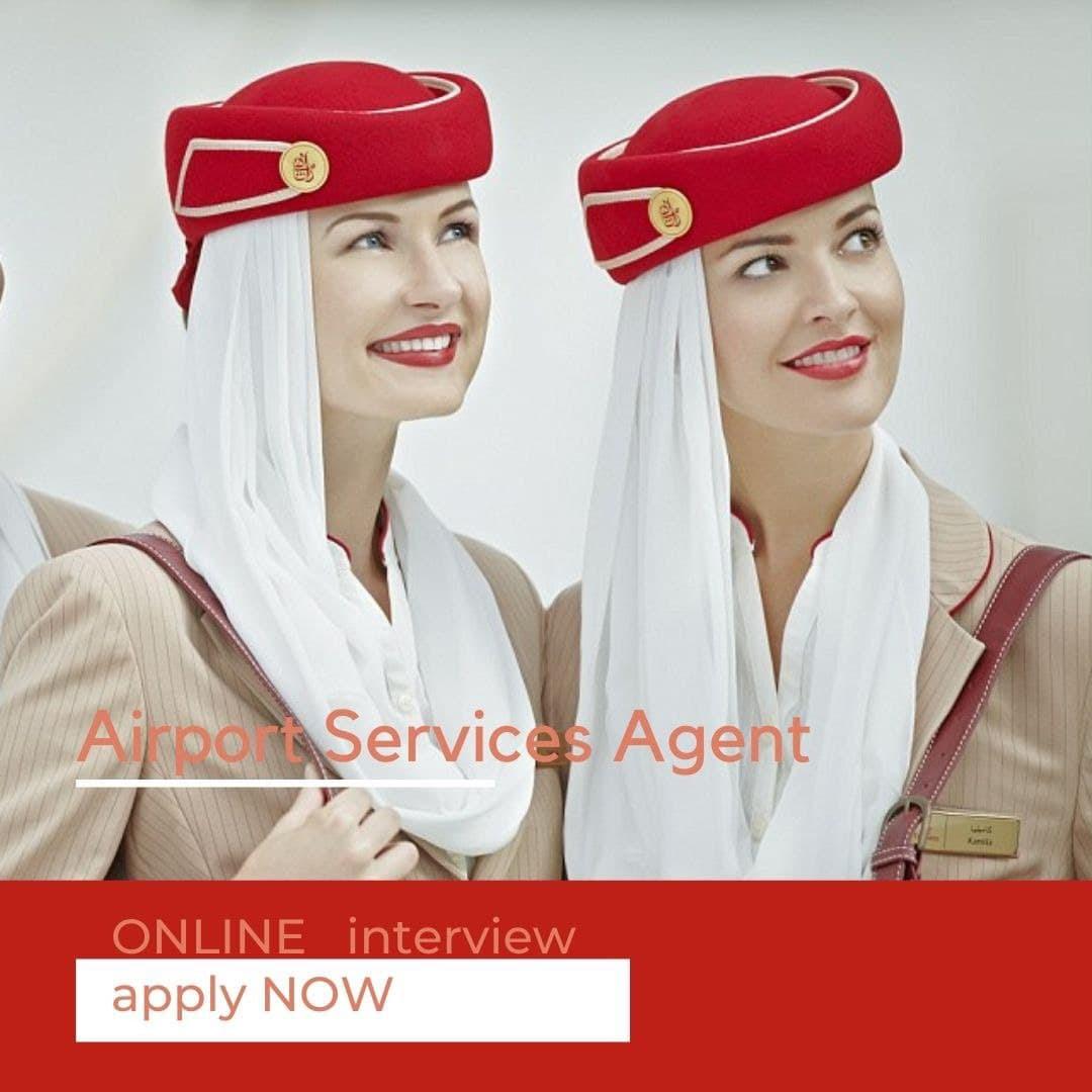 SERVICE AGENT В EMIRATES AIRLINE